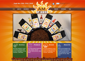 am-coffee-distributor-website