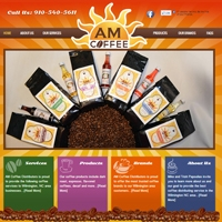 am-coffee-distributor-website