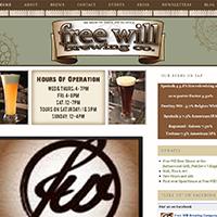 freewill-brewing-website