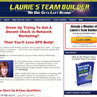 lauries-team-builder-website
