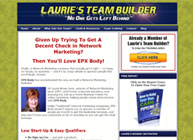 lauries-team-builder-website