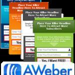 Custom Design Aweber Form