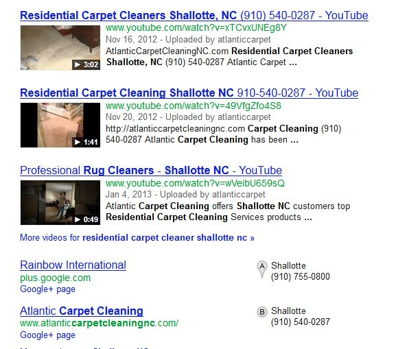 social proof carpet cleaners