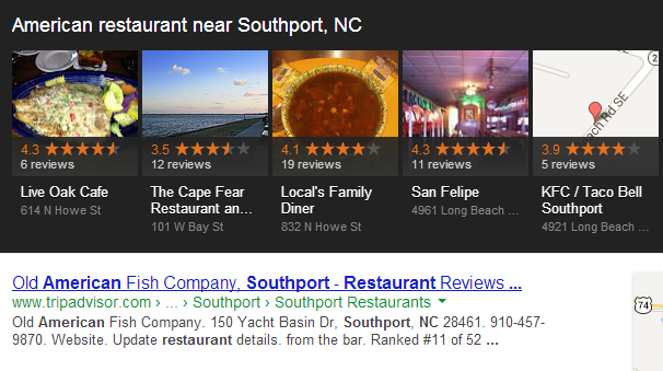 The Google Carousel